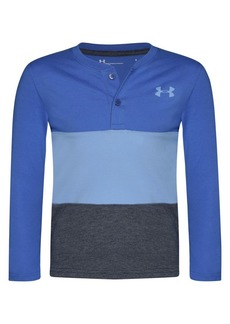 Under Armour Little Boy's Colorblock Cotton-Blend Henley