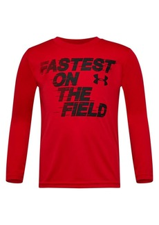 Under Armour Little Boy's Field Tee