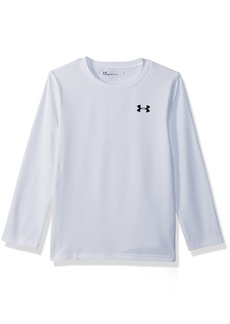 Under Armour Little Boys' Fitted Crew Neck