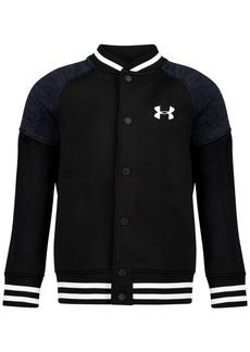 Under Armour Little Boys Fleece Varsity Jacket