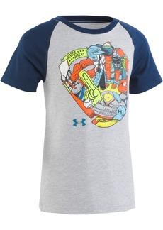 Under Armour Toddler Boys Glove-Print T-Shirt