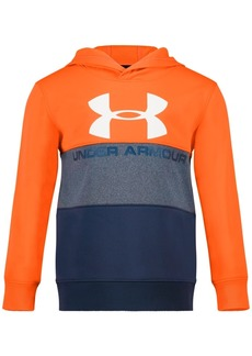 Under Armour Little Boys Half Icon Colorblocked Hoodie