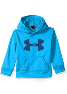 Under Armour Little Boys' Hd Mesh Big Logo Pullover Hoody