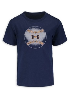 Under Armour Little Boy's Icon Baseball Cotton-Blend Tee
