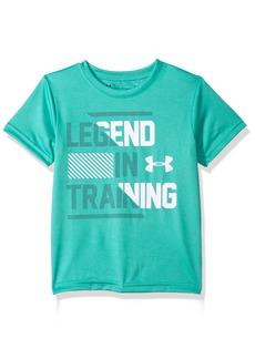 Under Armour Boys' Little Legend in Training Short Sleeve T-Shirt