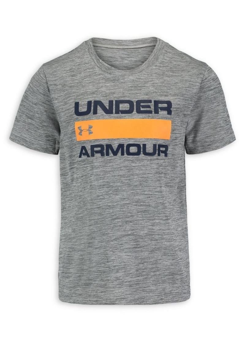 Under Armour Little Boy's Logo Graphic Twist Tee