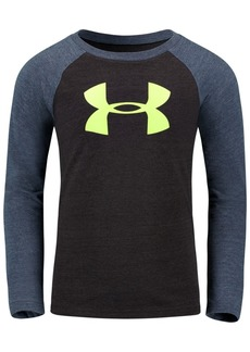 Under Armour Little Boys Logo-Print Raglan T-Shirt