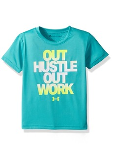 Under Armour Little Boys' Out Hustle Out Work Short Sleeve T-Shirt
