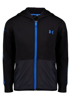 Under Armour Toddler Boys Pieced Wordmark Zip-Up Hoodie
