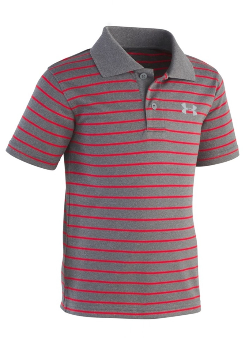 Under Armour Under Armour Toddler Boys Playoff Striped Polo Shirt