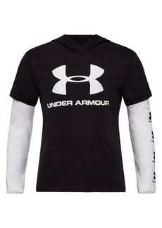 Under Armour Little Boy's Repeat Slider Tee