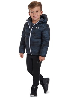 Under Armour Little Boys Reversible Pronto Puffer Hooded Jacket