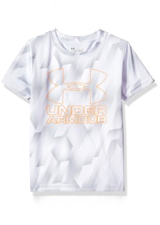 Under Armour Little Boys' Sandstorm Big Logo Short Sleeve Tee