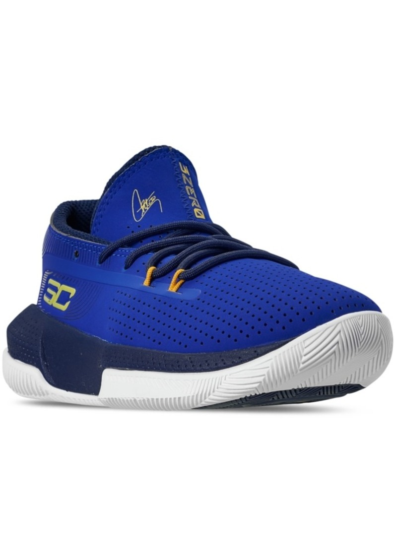 Under Armour Little Boys Sc 3ZER0 Iii Basketball Sneakers from Finish Line
