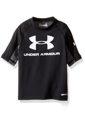 Under Armour Little Boys' Short Sleeve Rashguard