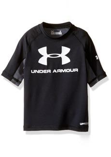 Under Armour Little Boys' Short Sleeve Rashguard