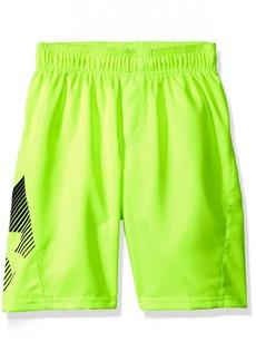 Under Armour Little Boys' Slash Volley Swim Shorts Fuel Green
