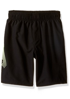 Under Armour Little Boys' Slash Volley Swim Shorts Black