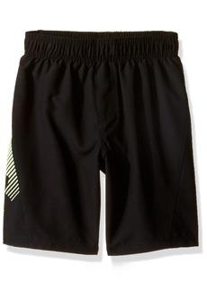 Under Armour Little Boys' Slash Volley Swim Shorts Black