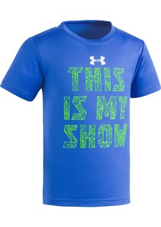 Under Armour Little Boys' This is My Show Short Sleeve Tee