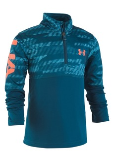 Under Armour Little Boys Trave Printed 1/4-Zip Shirt
