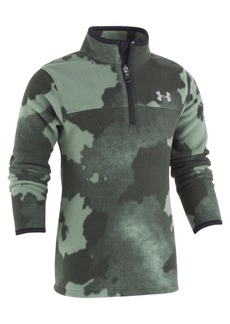 Under Armour Toddler Boys Traverse Camo-Print 1/4-Zip Fleece Shirt