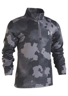 Under Armour Little Boys Traverse Camo-Print 1/4-Zip Shirt