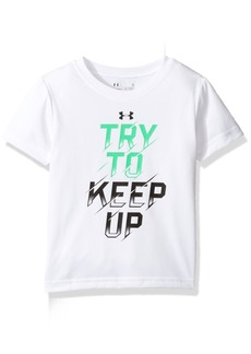 Under Armour Little Boys' Try to Keep up Short Sleeve Tee