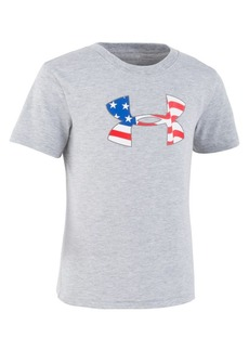 Under Armour Little Boy's UA Flag Icon Tee