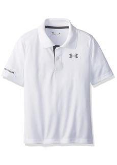 Under Armour Little Boys' Ua Logo Short Sleeve Polo  4