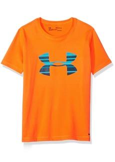 Under Armour Boys' Little Ua Stripe Big Logo Surf Shirt