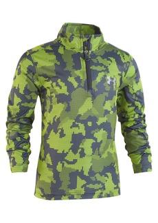Under Armour Little Boy's Utility Camouflage Quarter-Zip Top