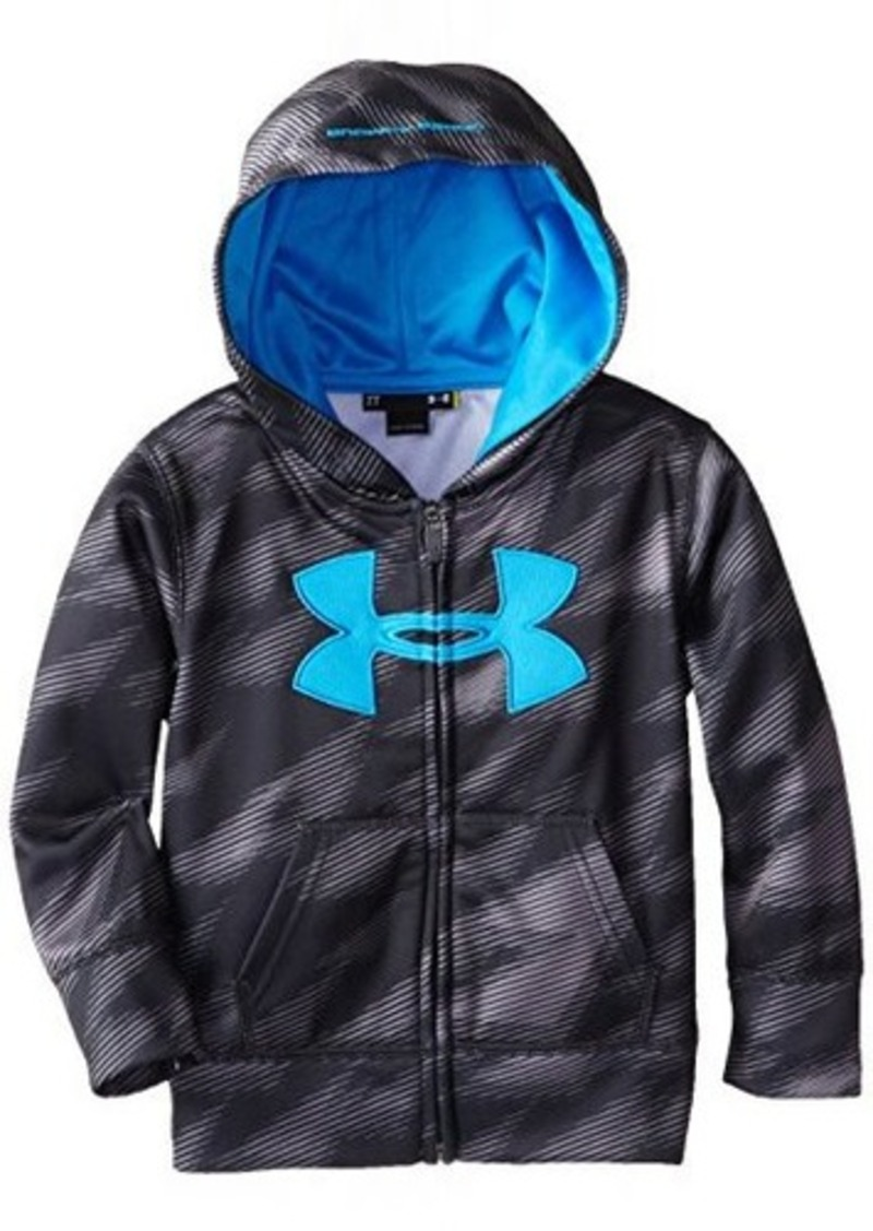 under armour under armour little boys 39 velocity hoody toddler anthracite outerwear shop it to me. Black Bedroom Furniture Sets. Home Design Ideas