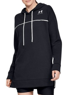 Under Armour Logo Cotton-Blend Hoodie