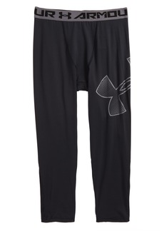 Under Armour Logo HeatGear® 3/4 Leggings (Little Boys & Big Boys)