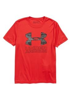 Under Armour Logo HeatGear® T-Shirt (Big Boys)
