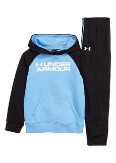 Under Armour Logo Hoodie & Sweatpants Set (Toddler Boys & Little Boys)