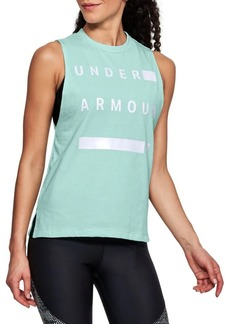 Under Armour Logo Muscle Tank