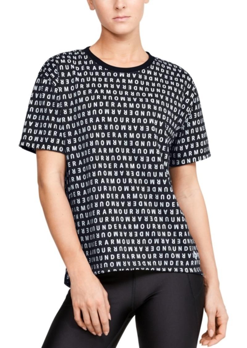 Under Armour Women's Logo-Print T-Shirt