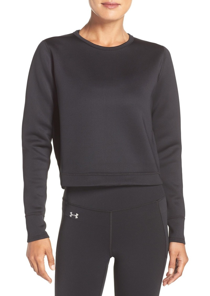 Under Armour 'Luster' Crop Pullover