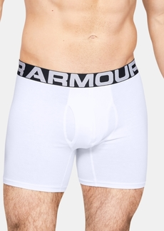 Under Armour Men's 2-Pk. Charged Cotton Boxer Briefs