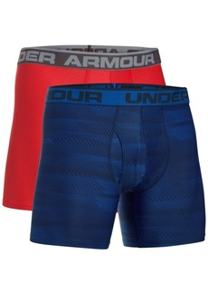 Under Armour Men's 2-Pk. HeatGear Boxer Briefs