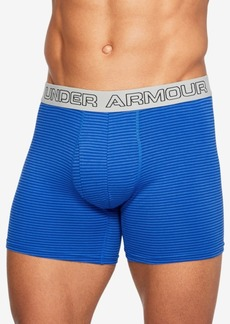 Under Armour Men's 3-Pk. Charged Cotton Boxer Briefs