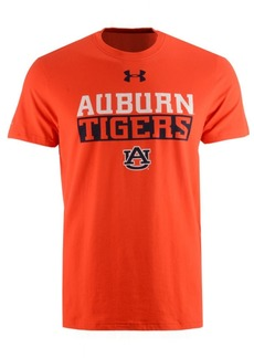 Under Armour Men's Auburn Tigers Lead Block Charged T-Shirt