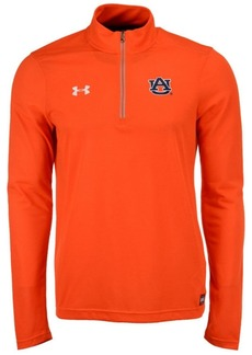 Under Armour Men's Auburn Tigers Sideline Microthread Quarter-Zip Pullover