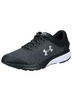 Under Armour Men's Charged Escape 3 Running Shoe Black (001)/White
