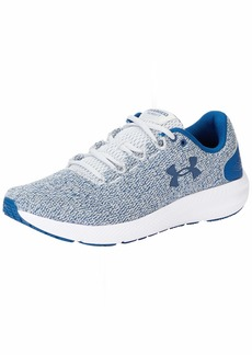Under Armour Men's Charged Pursuit 2 Twist Running Shoe Gray  M US