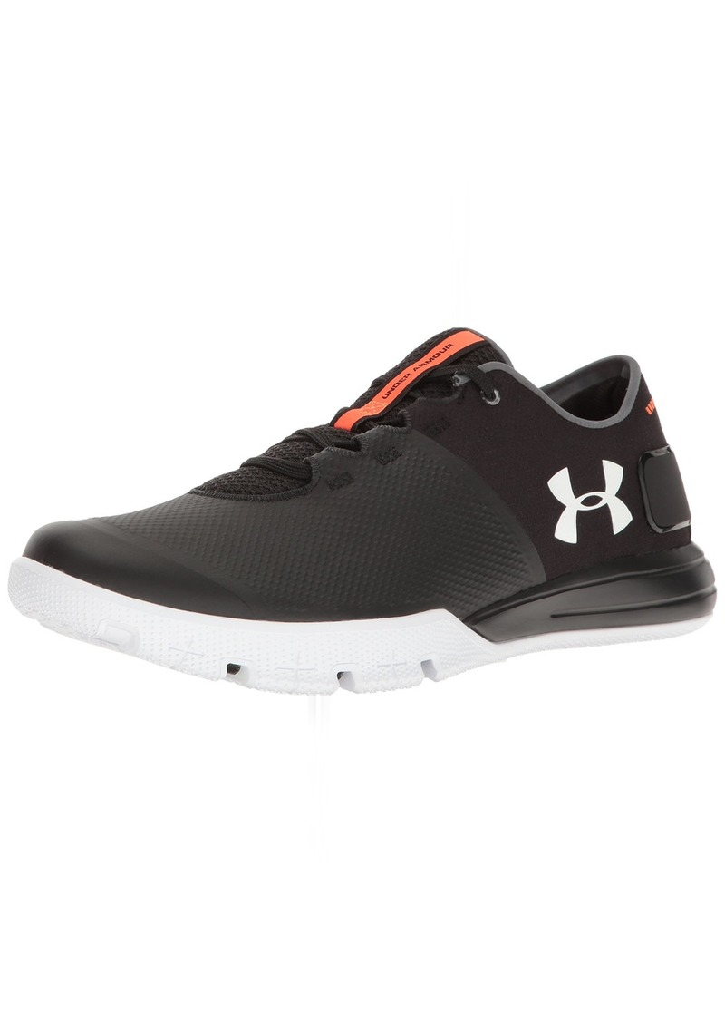 Under Armour Men's Charged Ultimate 2.0 Sneaker Black (001)/White