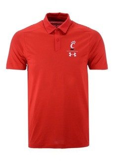 Under Armour Men's Cincinnati Bearcats Pinnacle Polo