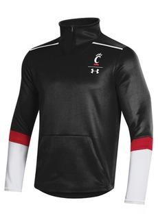 Under Armour Men's Cincinnati Bearcats Team Issue Quarter-Zip Pullover